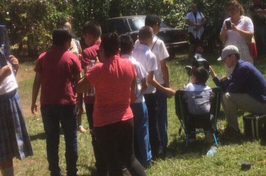 Astronomy Students in El Salvador